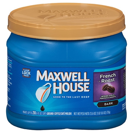 Maxwell House Ground Coffee French Roast