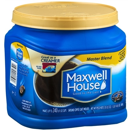 Maxwell House Ground Coffee Master Blend