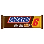 Snickers Fun Size Candy Bars 6 Pack