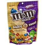 M&M's Salty & Sweet Snack Mix Dark Chocolate