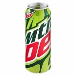 Mountain Dew Soda 24 oz Can