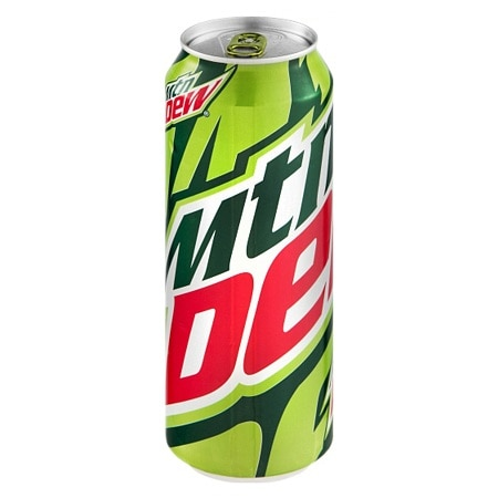Mountain Dew Soda 24 oz. Can