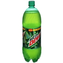 Mountain Dew Soda 1.5 Liter Bottle