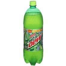 Diet Mountain Dew Soda 1.5 Liter Bottle Citrus