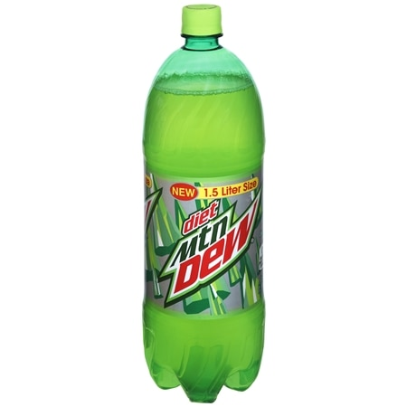 Diet Mountain Dew Soda Citrus