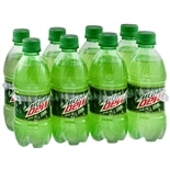 Mountain Dew Soda 8 Pack 12 oz Bottles