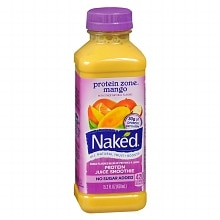 Naked Protein Juice Smoothie 15.2 oz Bottle Mango