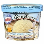 Nestle Gold Edition No Sugar Added Low Fat Ice Cream Vanilla