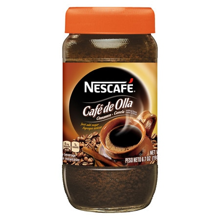 Nescafe Instant Coffee Beverage Powder Cinnamon