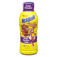 Nesquik Lowfat Milk 16 oz Bottle