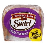Pepperidge Farm Swirl Bread Raisin Cinnamon