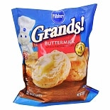 Pillsbury Grands! Buttermilk Frozen Biscuits 12 Pack Buttermilk
