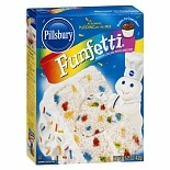 Pillsbury Funfetti Premium Cake Mix with Candy Bits Funfetti