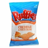 Ruffles Flavored Potato Chips Cheddar & Sour Cream