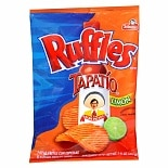Ruffles Tapatio Flavored Potato Chips Tapatio Lemon