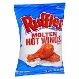 Ruffles Potato Chips Hot Wings
