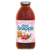 Snapple Tea 16 oz Bottle Raspberry