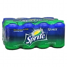 Sprite Soda 11.27 oz Cans 12 Pack Lemon-Lime