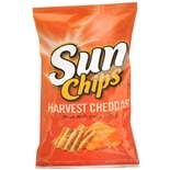 Sun Chips Flavored Multigrain Snacks Cheddar
