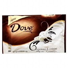 Dove Promises Silky Smooth Chocolate Cookies & Creme