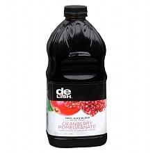 Good & Delish 100% Juice Blend 64 oz Bottle Cranberry Pomegranate