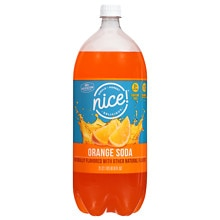 Nice! Soda 2 Liter Bottle Orange