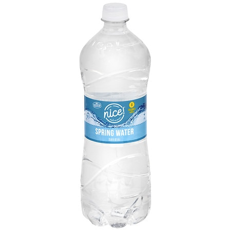 Nice! Spring Water 33.8 oz Bottle