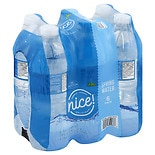 Nice! Spring Water 6 Pack 16.9 oz Bottles