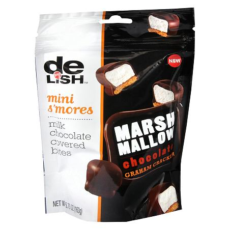 Good & Delish Milk Chocolate Covered Bites S'more