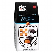 Good & Delish Chocolate Candy Sea Salt Caramel