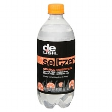 Good & Delish Seltzer 20 oz Bottle Orange
