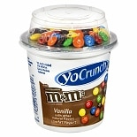 Yoplait Lowfat Yogurt with Milk Chocolate M&M's Vanilla
