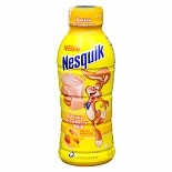 Nestle Nesquik Lowfat Milk 16 oz Bottle Banana Strawberry