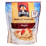 Quaker Perfect Portions Multiserve Instant Oatmeal Maple
