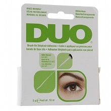 Duo Brush on Striplash Adhesive White/Clear