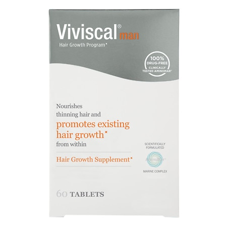 Viviscal Man Hair Growth Program, Capsules