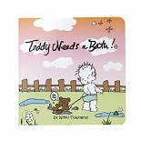 Teddy Needs A Bath! Read-Along Board Book
