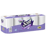 Scott Extra Soft Bath Tissue, Mega Roll, 20Pack