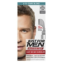 Just For Men AutoStop Foolproof Haircolor Dark Blond / Lightest Brown A-15