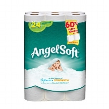 Angel Soft Bath Tissue, Regular Rolls