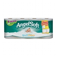 Angel Soft Bath Tissue, Triple Rolls