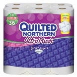 Quilted Northern Ultra Plush Bath Tissue, Double Rolls