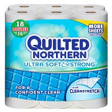 Quilted Northern Ultra Soft & Strong Bath Tissue, Double Rolls