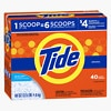 Tide Ultra Powder Laundry Detergent, 40 Loads Original