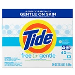Ultra Free & Gentle Powder Laundry Detergent, 40 Loads