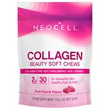 NeoCell Beauty Burst Collagen Soft Chews Fruit Punch