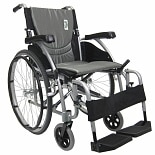 Karman 16in Seat Ultra Lightweight Ergonomic Wheelchair Silver