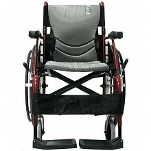 Karman 20in Seat Ultra Lightweight Ergonomic Wheelchair Red