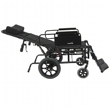Karman 18in Seat Lightweight Reclining Transport Wheelchair