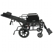 Karman 16in Seat Lightweight Reclining Transport Wheelchair